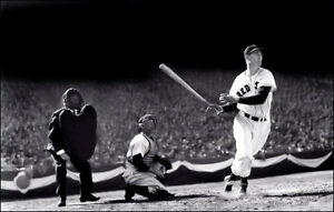 Ted-Williams-Photo-Poster-11X17-Boston-Red-Sox-Fenway-Buy-Any-2-Get-1-FREE
