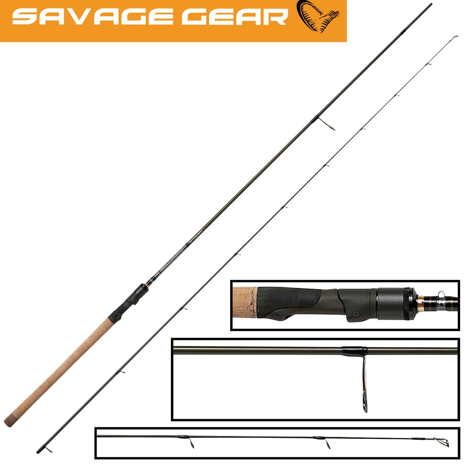 Savage Gear Parabellum CCS Spinnrute 2,79m 5-18g, Barschrute, Forellenrute
