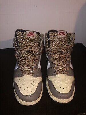 buy popular ac1c5 2da1e 2008 Nike Dunk High Pro SB Ferris Bueller Cheetah Sz 11   eBay