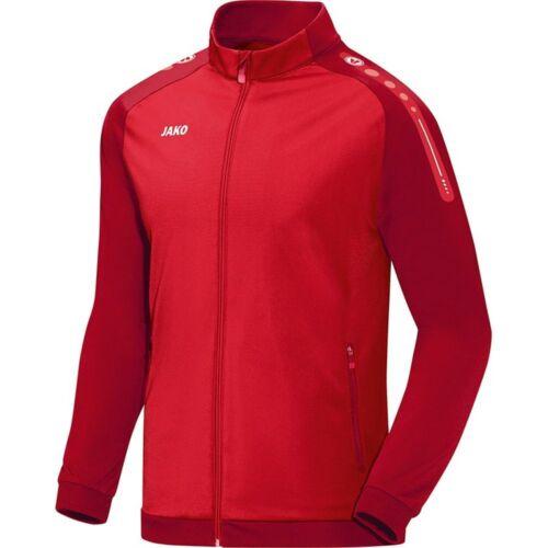 Jako Polyesterjacke Champ Herren Fußball Jacke Sportjacke rot dunkelrot