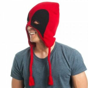 74b33cb47c9 Image is loading Deadpool-Mask-Wade-Wilson-Marvel-Comics-Licensed-Laplander-