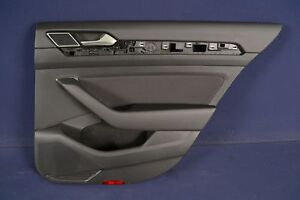 VW-PASSAT-B8-1-4-TSI-2015-RHD-DOOR-CARD-PANEL-REAR-RIGHT-OFF-SIDE-3G0867068A