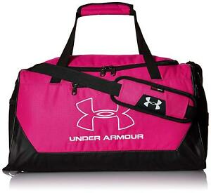 bf0469d5fc NEW NWT UNDER ARMOUR MEN  WOMEN PINK STORM HUSTLE R SMALL DUFFLE GYM ...