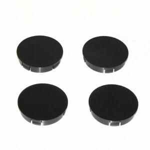 Centre-Wheel-Caps-Trim-Hub-60mm-Black-Covers-For-Mitsubishi-Pajero-Colt-Lancer