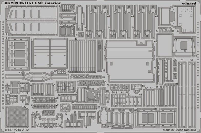 Eduard 1 35 M1151 Eac Interiore