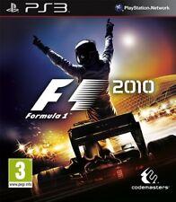 PS3 PS 3 Spiel F1 F 1 Formel 1 10 2010 Neu &verschweiß
