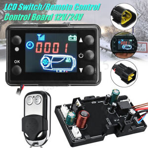Air-diesel-Petrol-Parking-Heater-Kit-Controller-Board-LCD-Switch-Remote-Control