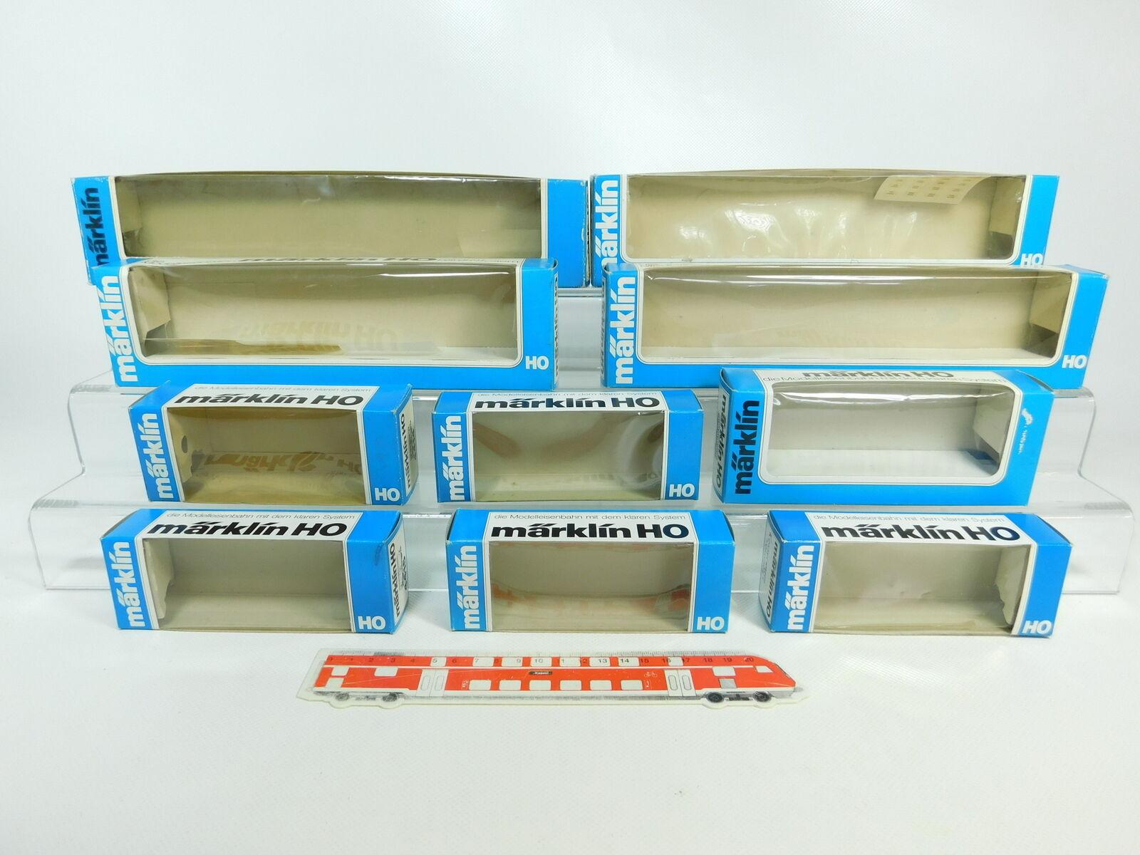 BQ72-1 x Märklin H0 Caja Vacía   4415 +4428 +4414 +4202 +4140 +4093 +4139