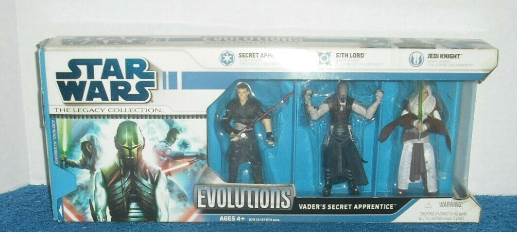 Star Wars - Vader's Secret Apprentice - The Legacy Collection Evolutions - RARE