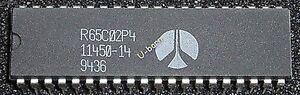 ROCKWELL R65C02P4 DIP-40 MICROPROCESSOR<wbr/>S(CPU)