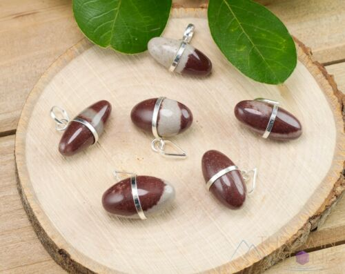 Bridesmaid Gift Raw Stone Jewelry E1195 SHIVA LINGAM Healing Crystal Pendant