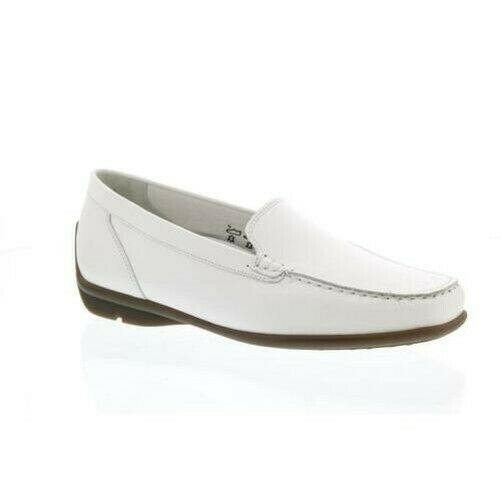 Waldläufer Harriet, Memphis (Smooth Leather), White, Slippers, Width H