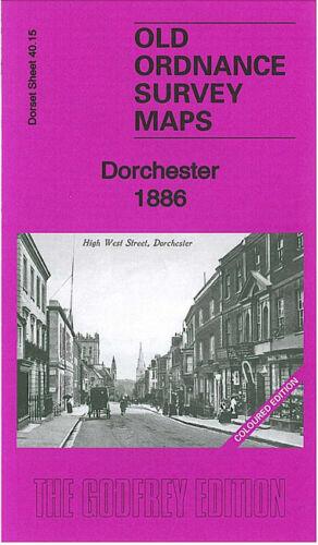 OLD ORDNANCE SURVEY MAP DORCHESTER 1886 POUNDBURY CAMP GREYS BRIDGE FORDINGTON