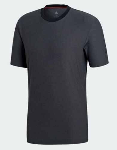 Adidas Men Barricade T-Shirts S//S Jersey Charcoal Climalite Top Shirt CY3319
