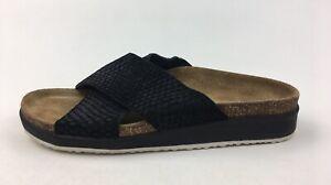 Aetrex-Dawn-Slide-Sandals-Women-s-Size-8-5-Black-3096