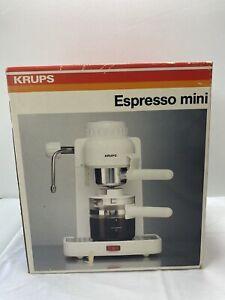 Krups Espresso Mini Coffeemaker  Model 963/A NEW
