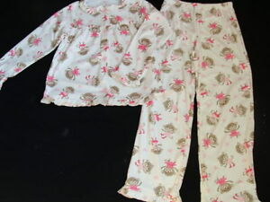0f09bcee7c2a NEW Carter s Girls Fleece Pajamas Size 4 Monkey Winter 2 pc Pjs ...