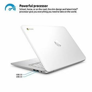 HP-14-Ak010Nr-Chromebook-14-034-PC-N2840-2-16GHz-2GB-RAM-16GB-HDD-White