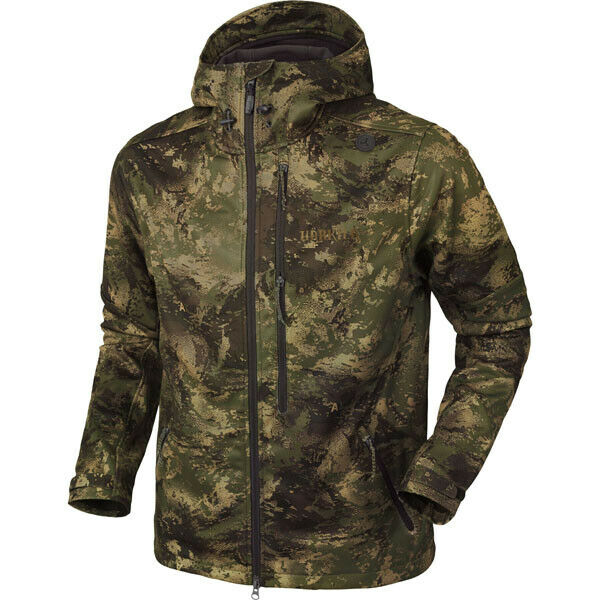Harkila Lagan Camo Jacket AXIS MSP Digital Camouflage Forest Grün