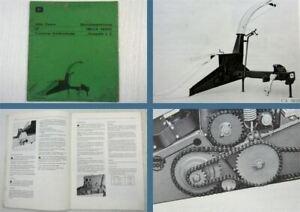 John-Deere-25-Trommel-Feldhaecksler-Bedienungsanleitung-Betriebsanleitung