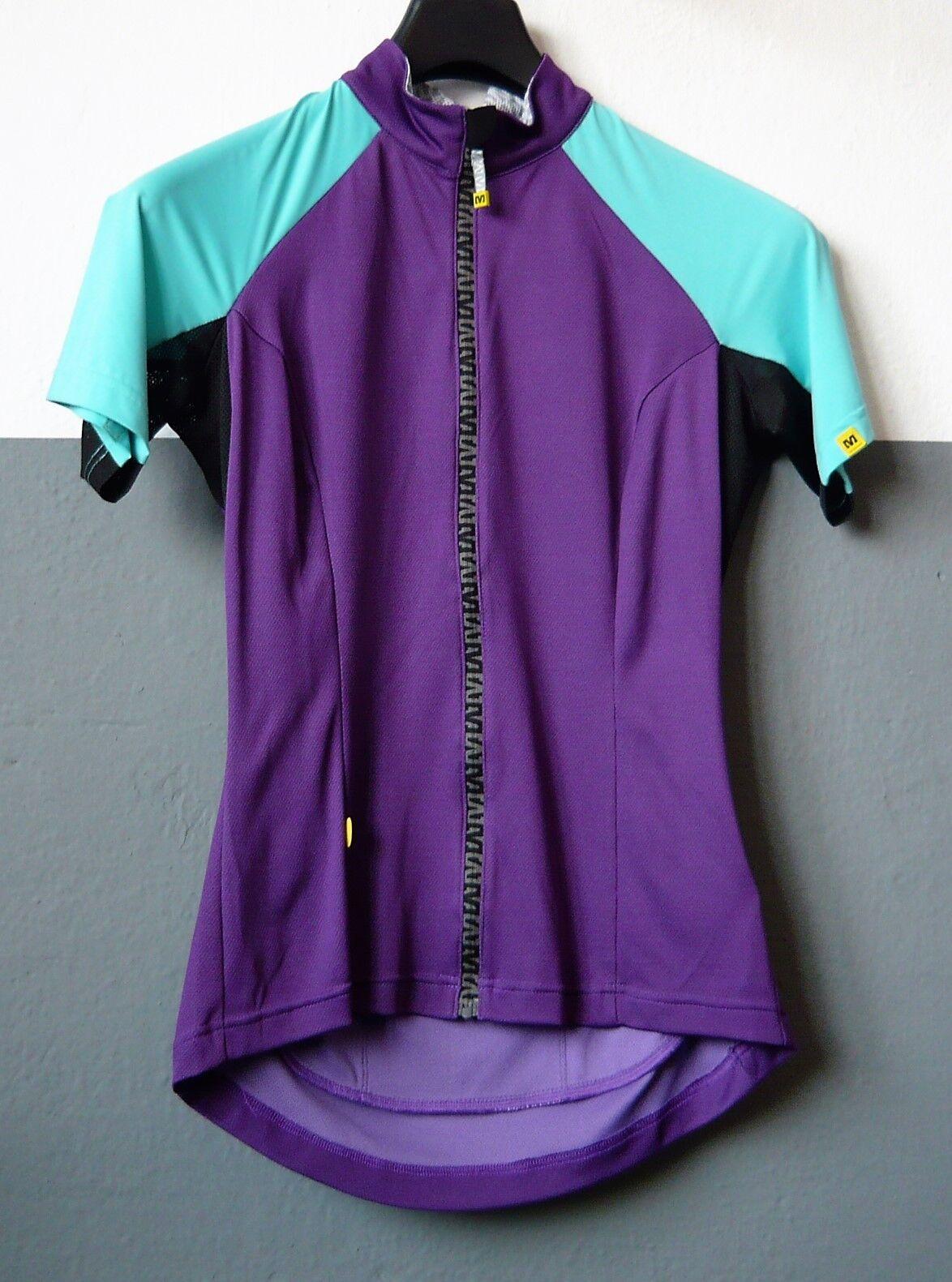 Fahrradtrikot Damen Kurzarm - Mavic Athena Jersey - Elegant Plum-X