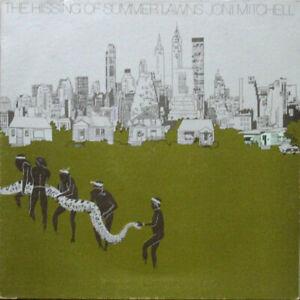 Joni-Mitchell-The-Hissing-Of-Summer-Lawns-Vinyle-17-8cm-A1-B1-1st-GB-Press