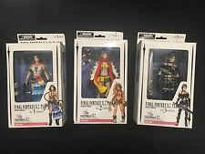 Final Fantasy X-2 Play Arts Action Figure Set - Yuna, Rikku, & Paine - Sealed!