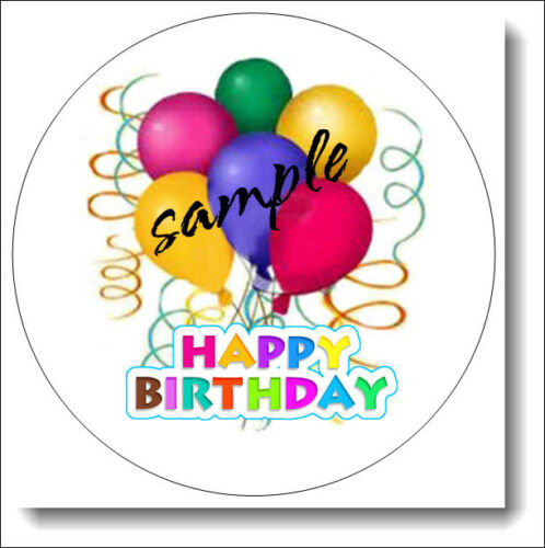 48//30//24//20 BIRTHDAY BALLOONS LABEL SEALS MANY SIZES TO CHOOSE FROM!!