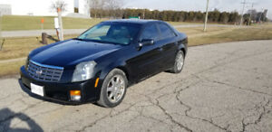 2003 Cadillac CTS tan leather