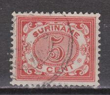 Suriname nr 46 used gestempeld Cijfer 1902-1908
