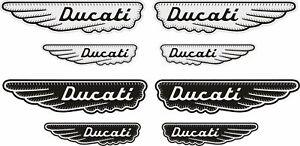 Details About Stickers Ducati Scrambler Ducati Old Adesivi Aufkleber Decals Silver