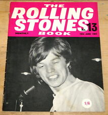 THE ROLLING STONES BOOK MONTHLY NUMBER 13 10TH JUNE 1965 VINTAGE MAGAZINE