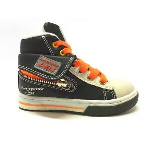 Scarpa-Alta-Bambino-Sneakers-scarpe-sportive-Balducci-pelle-Lacci-verde-zip