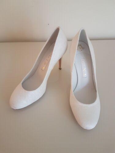 perles 650 crème blanches Escarpins Jacquard à Rrp laverne Gina £ Eppgaqn8