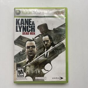 Kane and Lynch Dead Men Microsoft Xbox 360 Complete w/Manual - GOOD