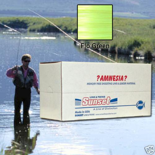 AMNESIA MEMORY FREE FISHING LINE 30 LB GREEN SS07430X10