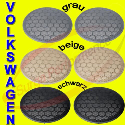 schwarz   passend für VW Lupo { Lautsprechergitter Grill