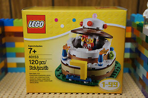 Image Is Loading LEGO 40153 BIRTHDAY CAKE Decoration Accessories Boxed Set