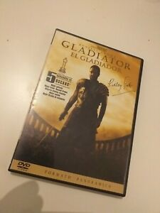 Dvd-GLADIATOR-CON-RUSSELL-CROWE