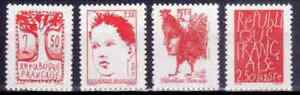 1992-FRANCE-TIMBRE-Y-amp-T-N-2772-a-2775-Neuf-SANS-CHARNIERE