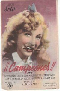 Image-programme-Langue-espagnole-Film-Campeones-Photo-de-Luchy-Soto-1943