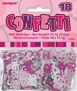 18th-BIRTHDAY-PARTY-DECORATIONS-GLITZ-PINK-AND-SILVER-TABLE-CONFETTI-SCATTERS