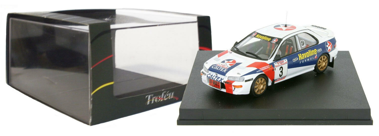 TROFEU 631 Subaru Impreza vainqueur de la Thaïlande Rally 1997-Rui Madeira échelle 1 43