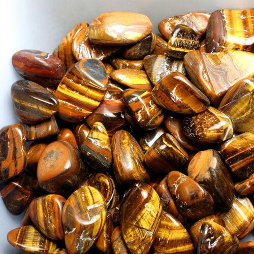50g Natural Tiger Eye Stones Healing Rock Crystal Mineral Healing Gravel Gem Lot