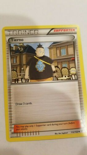 "pokemon card Tierno /""trainer supporter/"""