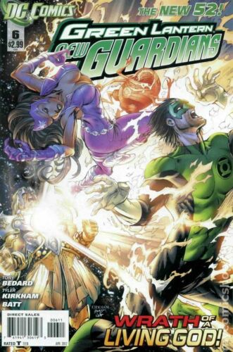 Green Lantern New Guardians #6A FN 2012 Stock Image