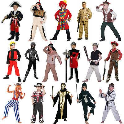Jungen Kostüm Karnel Fasching Verkleidung Karnevalskostüm Boys Gr. 104 - 164 neu