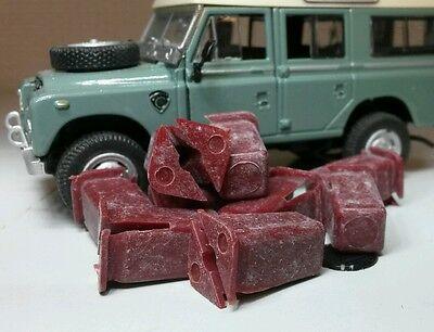 Dash Floor Plastic Nylon Lockut Nut Bulkhead x10 Land Rover Series 3 Defender 90