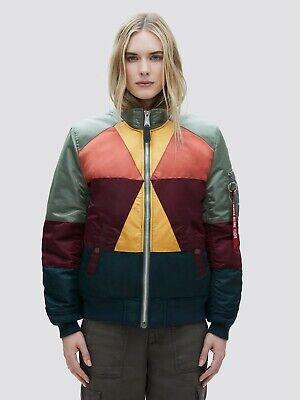 Alpha Industries Women/'s MA-1 Mosaic Jacket  WJM49500C1