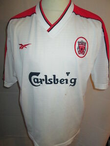2c9057d6b Image is loading Liverpool-1998-1999-Away-Football-Shirt-Size-42-